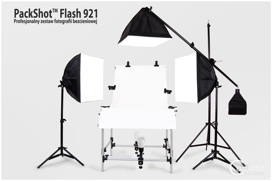 Zestaw do fotografii bezcieniowej PackShot 921™