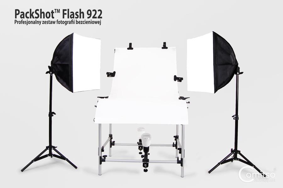 Zestaw do fotografii bezcieniowej PackShot 922™