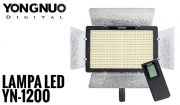Lampa Panelowa LED, model Yongnuo YN-1200 3200-5500K