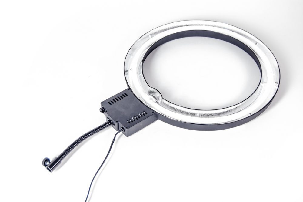 Lampa pierścieniowa RING NG-40C + Statyw 803