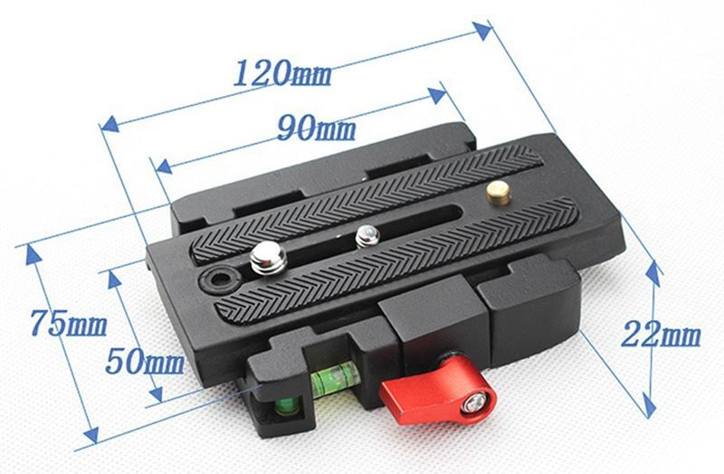 Adapter szybkozłączka P200 system Manfrotto 501