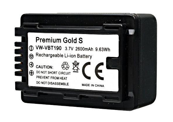 Akumulator VW-VBT190 2600mAh (Panasonic)