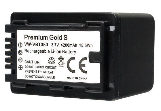 Akumulator VW-VBT380 4200mAh (Panasonic)