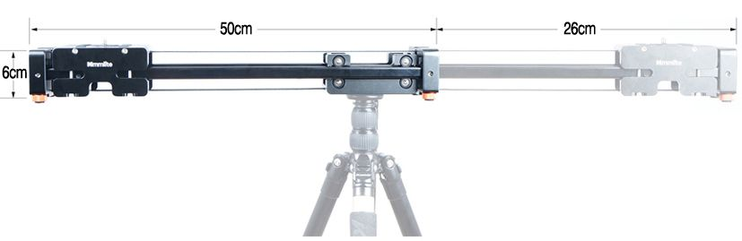 Slider kamerowy FoldingSlide™ 76cm