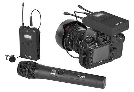 Bezprzewodowy mikrofon, model BY-WHM8