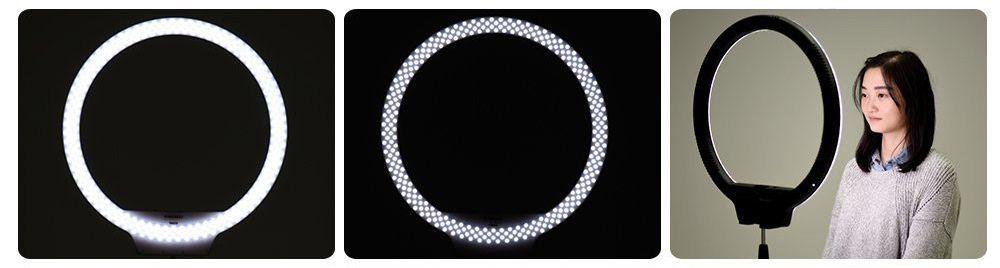 Lampa pierścieniowa LED RING YN ŚCIEMNIACZ