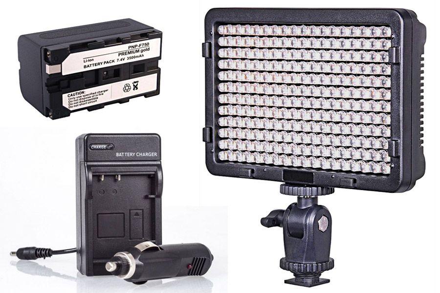 Filmowy zestaw oświetleniowy LED
