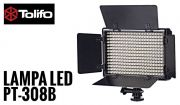 Lampa Panelowa LED 3200-5600K, model Tolifo PT-308B