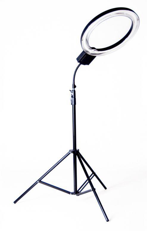 Lampa pierścieniowa fluorescencyjna RING 40W ŚCIEMNIACZ