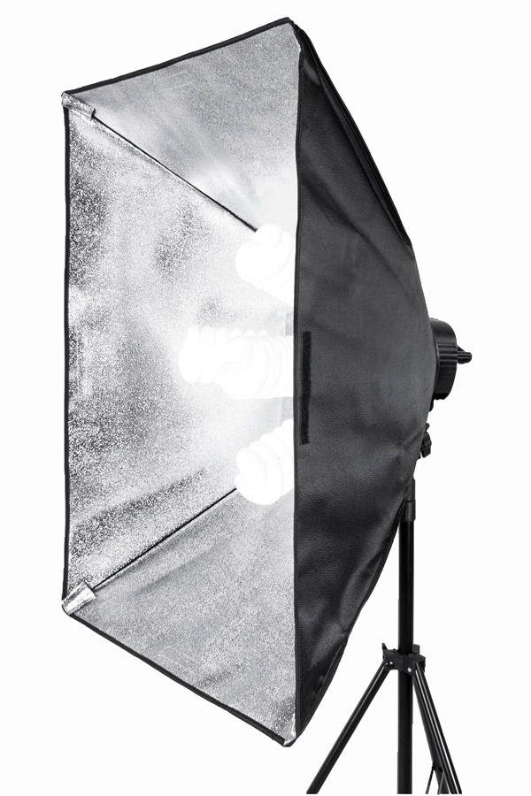 Lampa SOFTBOX światła ciągłego typu Quadhead