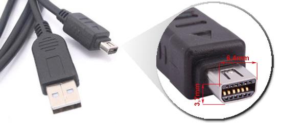 PRZEWÓD OLYMPUSodpowiednik kabli CB-USB5, CB-USB6