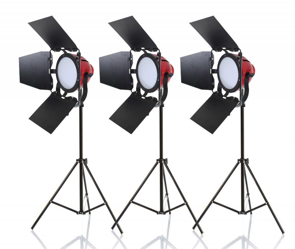 zestaw oświetleniowy 3x65W RedHead ze ściemniaczem