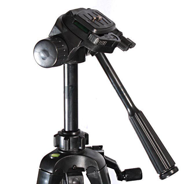 Statyw Fotograficzny model ST-540 z poziomicą i głowicą 3D