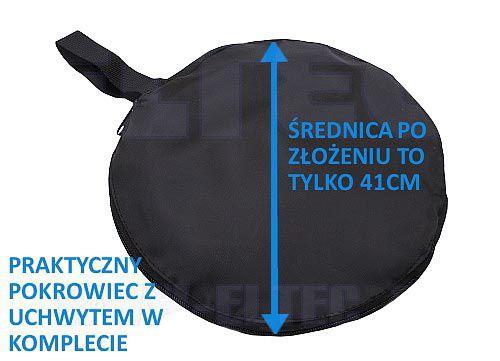 Blenda 5w1 owalna SUNFIRE, rozmiar 92x122cm