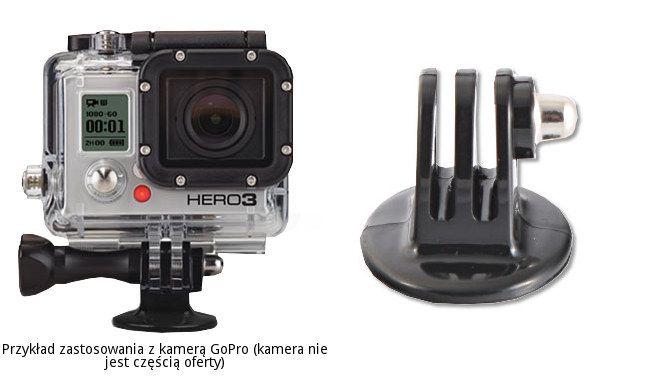 Adapter statywowy ze śrubą montażową do GoPro HERO zamiennik GTRA30