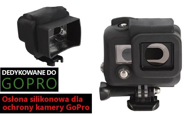 Obudowa SILIKONOWA do GoPro HERO 3, 4 (GP41)