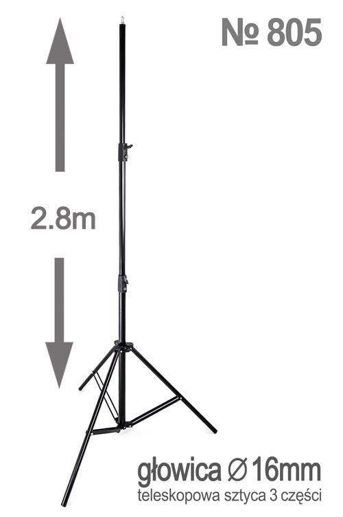 Statyw oświetleniowy 280cm model 805